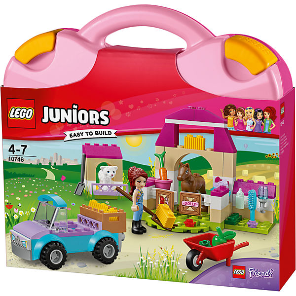 LEGO Juniors 10746: Чемоданчик «Ферма Мии»
