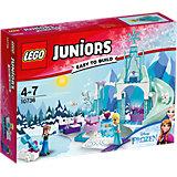 LEGO Juniors 10736: Игровая площадка Эльзы и Анны