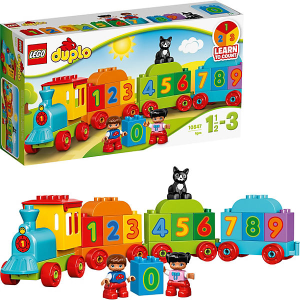LEGO DUPLO 10847: Поезд «Считай и играй»