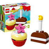 LEGO DUPLO 10850: Мои первые пирожные