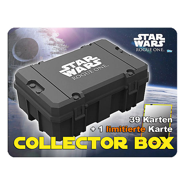 Topps Sammelkarten - Star Wars Rogue one Collector Box