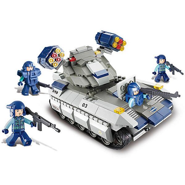 """Конструктор """"Военный спецназ: Танк с ракетной установкой"""", Sluban"""
