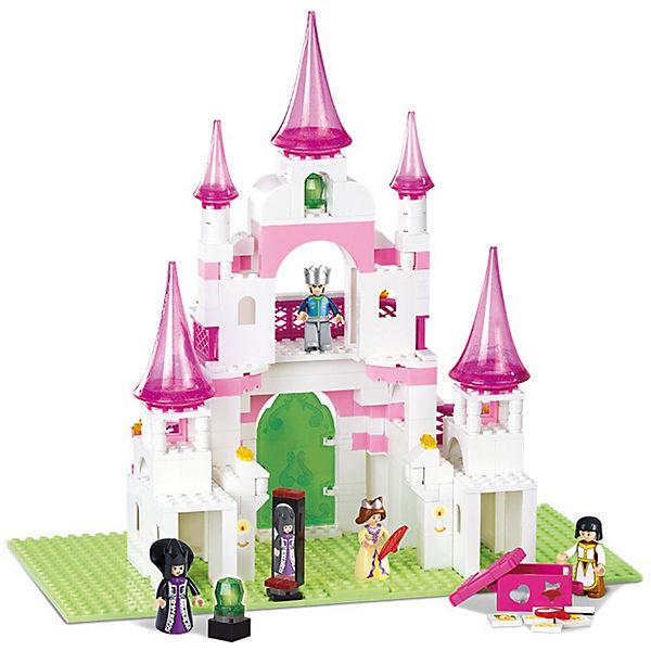 """Конструктор """"Розовая мечта: Замок принцессы"""", Sluban"""