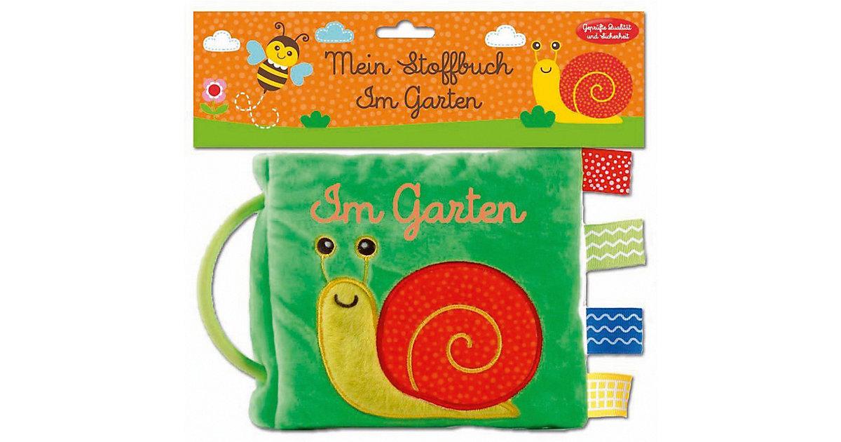 Buch - Mein Stoffbuch: Im Garten