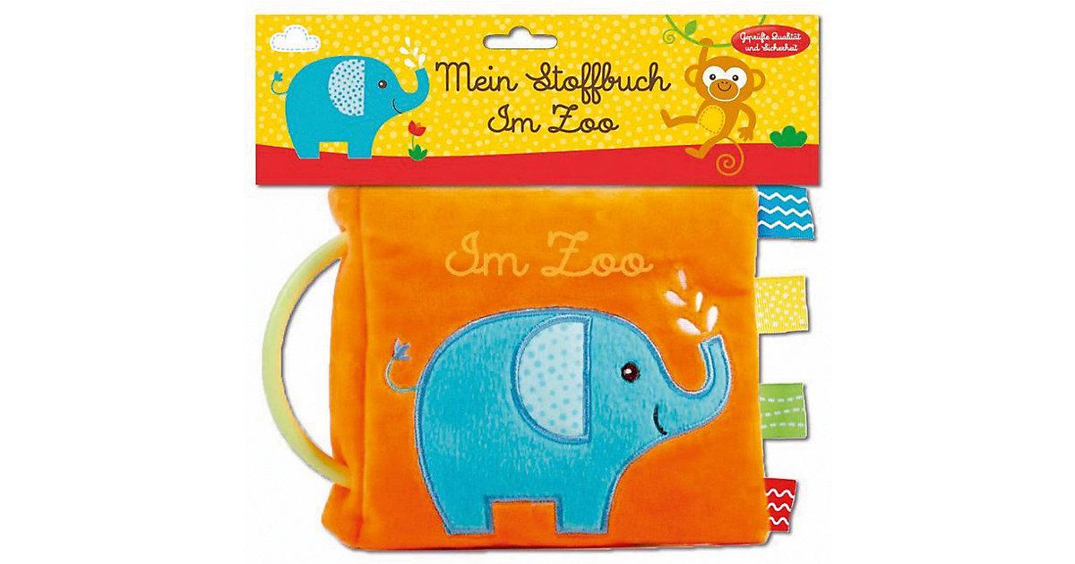 Buch - Mein Stoffbuch: Im Zoo