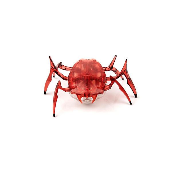 """Микро-робот """"Жук Скарабей"""", вишневый, Hexbug"""