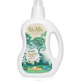 Экологичный кондиционер для белья с эфирным маслом эвкалипта и экстрактом хлопка, концетрат, BIO MIO