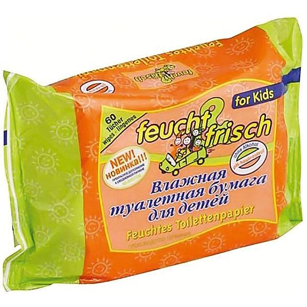 Детская влажная туалетная бумага Feucht Frisch (зап. блок), Feucht Frisch