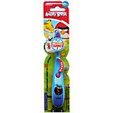 Детская зубная щётка музыкальная, Angry Birds, LONGA VITA, синий