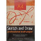 Папка для рисования и эскизов А4 40л.