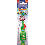 """Музыкальная зубная щётка """"Забавные зверята"""", 3-6 лет, LONGA VITA, зеленый"""