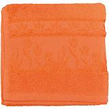 Полотенце махровое Tulips 40*75, Португалия, оранжевый