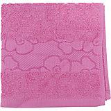 Полотенце махровое Viola 40*75, Португалия, розовый