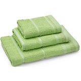 Полотенце махровое Клео 60*130, Любимый дом, зеленый
