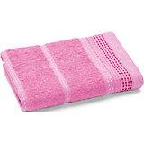 Полотенце махровое Клео 60*130, Любимый дом, розовый