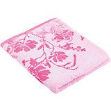 Полотенце махровое Космея 60*130, Любимый дом, розовый
