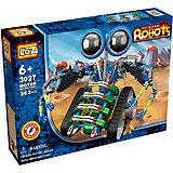 """Электромеханический конструктор """"IROBOT. Роботы. МотоЛокатор"""", Loz"""