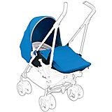 Доп. комплект для коляски Reflex, Silver Cross, голубой