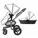 Коляска 2 в 1 Silver Cross Surf, carrycot/chassis graphite
