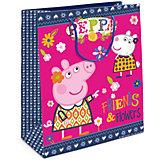"""Пакет подарочный  """"Пеппа и Сьюзи"""", 23*18*10"""