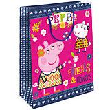 """Пакет подарочный  """"Пеппа и Сьюзи"""", 35*25*9"""