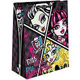 "Пакет подарочный ""Monster High"", 33*26,7*13,7 см"