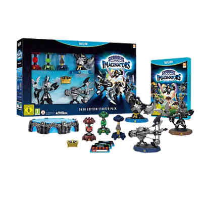 Wii U Skylanders Imaginators Starter Pack Dark Edition