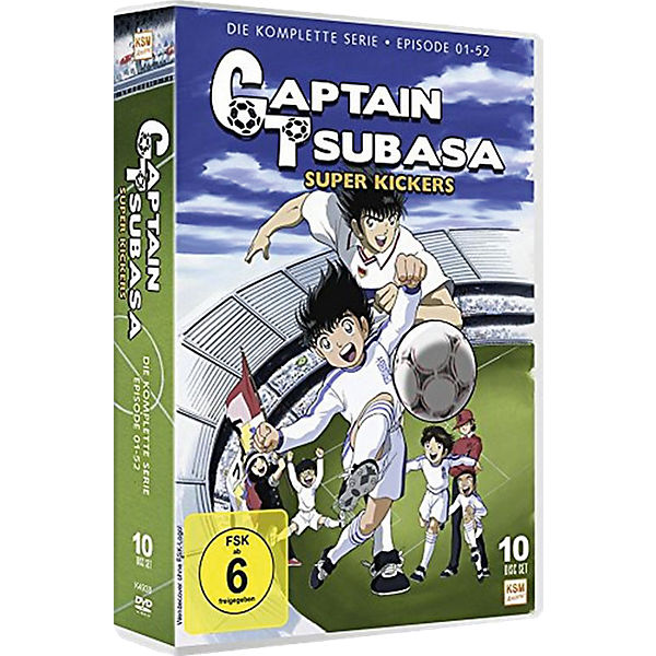 DVD Captain Tsubasa - Super Kickers - Gesamtedition