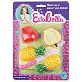 """Набор """"Готовим овощи и фрукты"""" с разрезными яблоком и ананасом, EstaBella"""