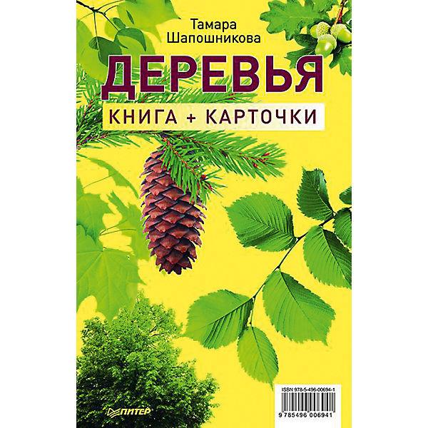 """Книга и карточки """"Деревья"""""""