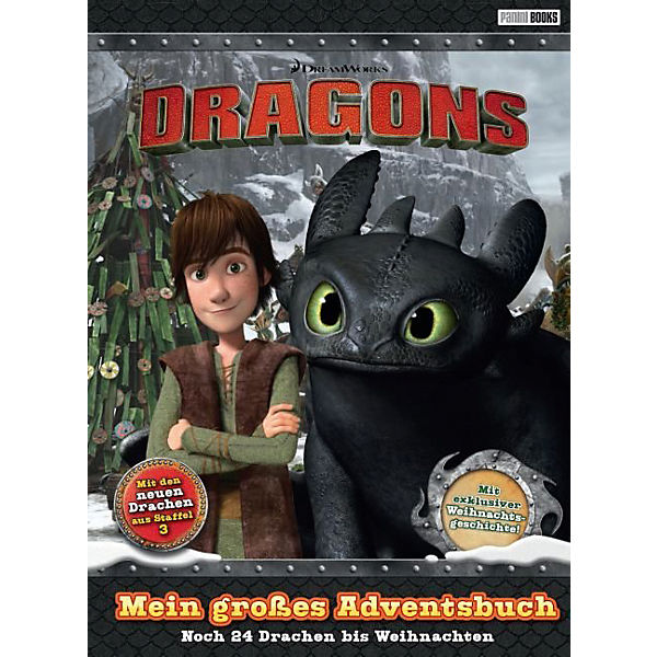 Dragons: Mein großes Adventsbuch