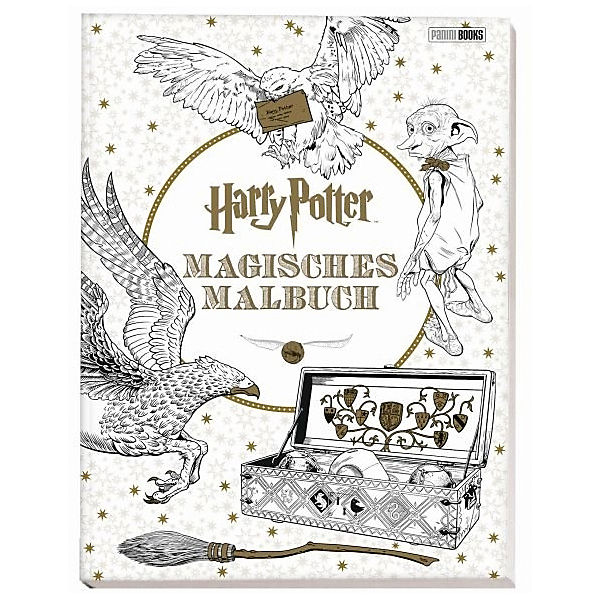 Harry Potter - Magisches Malbuch