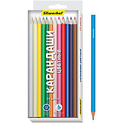 Набор карандашей, 24 цвета НАРОДНАЯ КОЛЛЕКЦИЯ, шестигранные