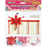 Набор для творчества, скрапбукинг , HOBBY, 5 открыток/5 конвертов/декор