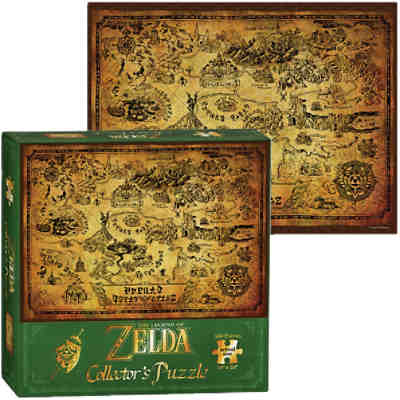 Puzzle The Legend of Zelda Hyrule Map
