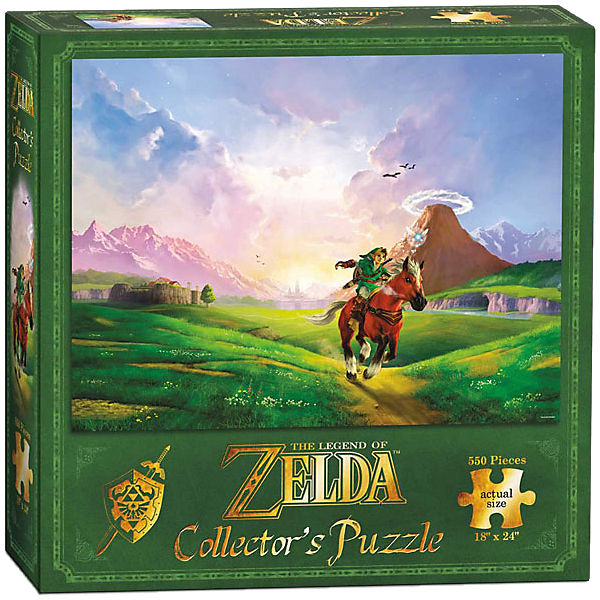 Puzzle The Legend of Zelda Link's Ride