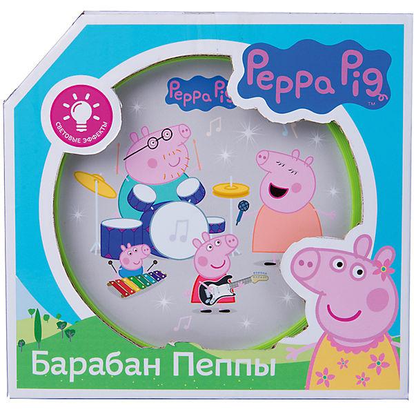 Барабан Пеппы со световыми эффектами,Свинка Пеппа