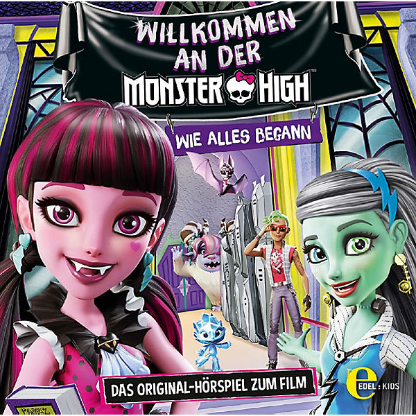 CD Welcome to Monster High - Hörspiel zum Film