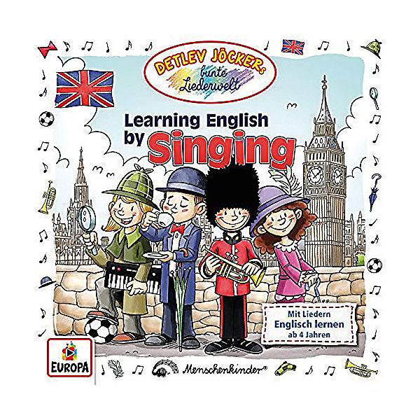 CD Detlev Jöcker - Learning English by Singing