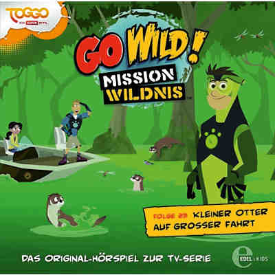 CD Go Wild! Mission Wildnis 23 - Kleiner Otter