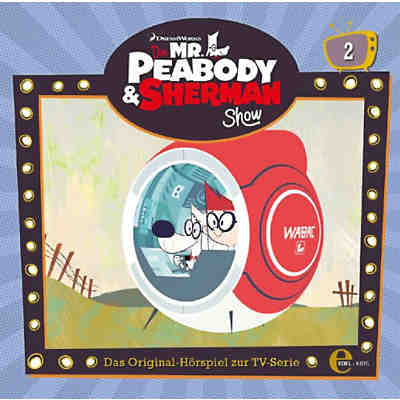 CD Die Mr.Peabody & Sherman Show 2 - Hörspiel TV-Serie