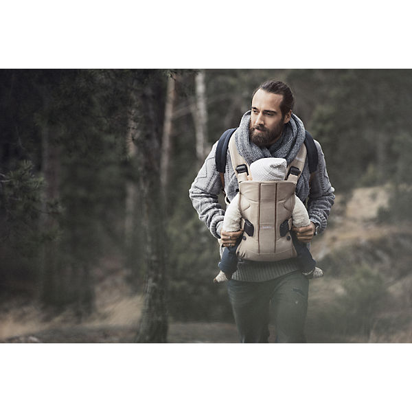 Рюкзак One Soft Cotton Mix Limited edition, BabyBjorn, бежевый