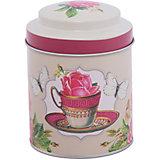 """Емкость для сыпучих продуктов """"Чайная роза"""" 680мл, Magic Home"""