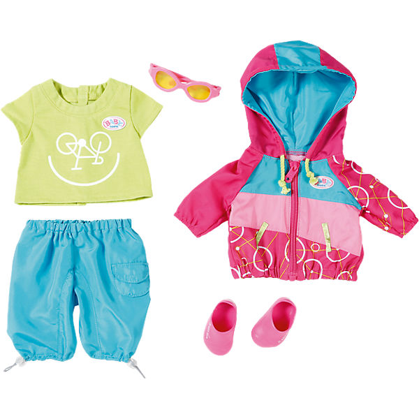 Baby Born 174 Puppenkleidung Play Amp Fun Fahrrad Outfit 43 Cm