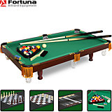 Бильярдный стол Fortuna Пул 3 фута, 4 в 1  с комплектом аксессуаров, Fortuna