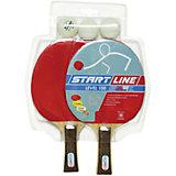 Набор теннисных ракеток Level 100, мячи Club Select, 3 шт