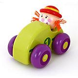 "Машинка ""Клоун"", зеленая, Mapacha"
