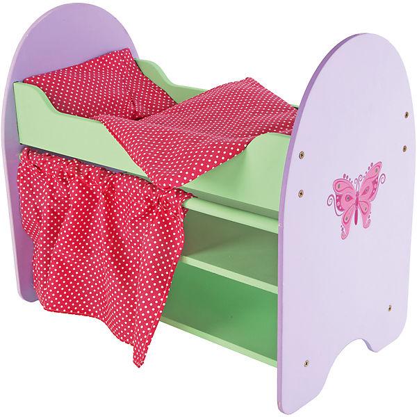 "Кроватка ""Бабочка"" с полками, 51*30*45 см, Mary Poppins"
