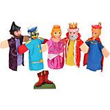 """Кукольный театр """"Кот в сапогах"""", 5 кукол, Жирафики"""