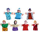"Кукольный театр ""Морозко"", 7 кукол, Жирафики"